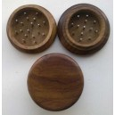 Træ grindere 52 mm 2 delt