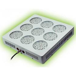 136W Indendørs Gro Lampe RGB LED cluster S4 dybrød Rød, Hvid, Blå Mix