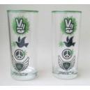 Long drink glas sæt af  6 stk