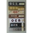 OCB i forskellige slags og størrelser