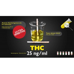 THC Urin test  25 ng/ml