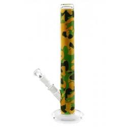 Orange  Splatter Glasbong fra Weedstar
