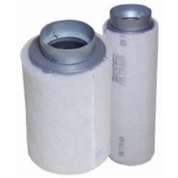 Kulfilter 250 m³/h til 100 mm Tilslutning